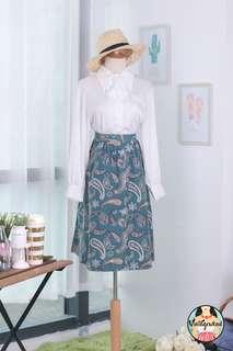 🍿 Vintage Midi Skirt VS1462