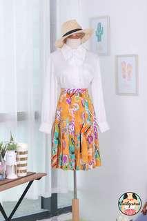 🍿 Vintage Midi Skirt VS1461