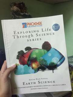 SHS Exploring Life Through Science (Earth Science)