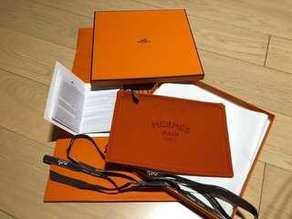 Hermes Flat PM Yatching coton orange feu