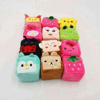 12 pcs cute wallet/coinpurse (For resellers)