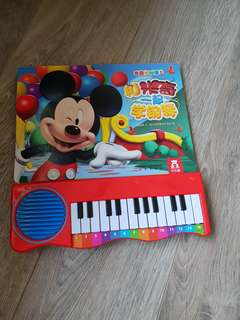 Mickeymouse clubhouse piano book
