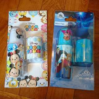 Disney Tsum Tsum Frozen mini fan 迪士尼風扇仔