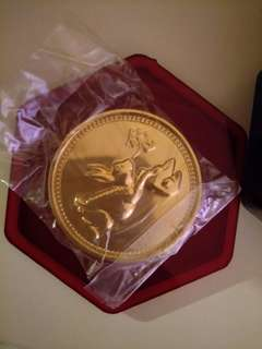 RWS Rabbit Gold Coin