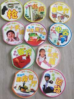 Set of 10 Chinese picture books