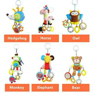 *FREE DELIVERY to WM only / Ready stock, 2 design RM60* Kids baby rattle each design as shown in design/color. Free delivery is applied for this item.