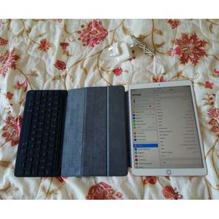 Apple iPad Pro 10.5 WIFI 4G 512GB 頂配 粉紅色 連smart keyboard 保養