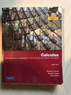 Pearson, Calculus