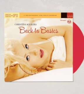 Christina Aguilera - Back To Basics Double LP (Limited Red Colored Vinyl)