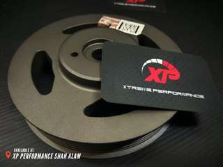 Crank pulley Arospeed for PROTON CAMPRO T7 aluminium