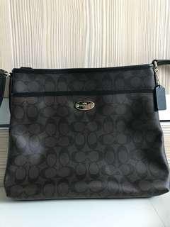 Slightly Used Coach Sling Bag/Messenger Bag