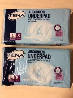 BN Tena L Underpad (60 x 75 cm)