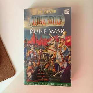 Joe Dever - Lone Wolf Book 24 - Rune War