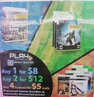 XBOX 360 2ND HAND GAME PROMOTION!