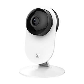 [IN-STOCK] YI 1080p Home Camera, Indoor IP Security Surveillance System with Night Vision for Home/Office/Baby/Nanny/Pet Monitor with iOS, Android App - Cloud Service Available
