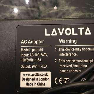 Third party AC adaptor for laptops