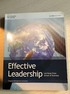 Effective Leadership, Cengage Learning