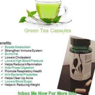 Buy These Fat Busting Green Tea Capsules & Get a Free Whitening Fluoride Toothpaste
