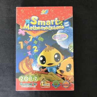 💥NEW-  Smart Mathematician 2017 Lower Primary Set Of 10 books- Children learning books