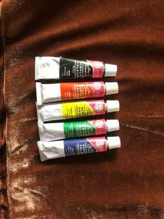Basics 5 Acrylic Colors
