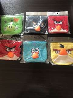 Angry Birds string pouch