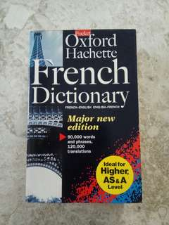 French Dictionary by Oxford Hachette