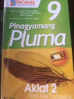 Pinagyamang Pluma aklat 2 for grade 9