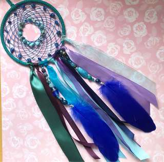 Mermaid's Purse Dreamcatcher