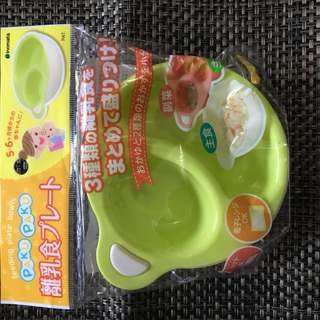 Piring dan mangkuk bayi set of 4