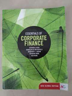 🚚 原文書 財管 essentials of corporate finance