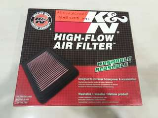 K&N Filter Honda Accord 2.4L