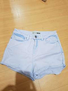 Topshop highwaist shorts
