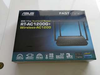 BN! ASUS Dual Band Router RT AC1200G