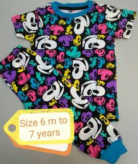 Printed pyjamas mickey