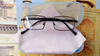 Women and Men- BRAND NEW Optical Eyeglasses Frames   *SPR 01: FLEXIBLE FRAME-  Black  Eyewear