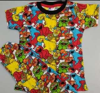Printed pyjamas sesame street