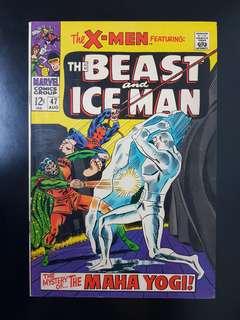 X-Men (vol.1) #47 Iceman