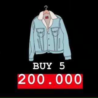 BUY 5 ONLY 200.000