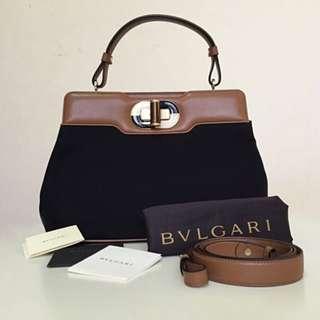 🚚 BVLGARI Large Isabella Rossellini Bag (BNIB)