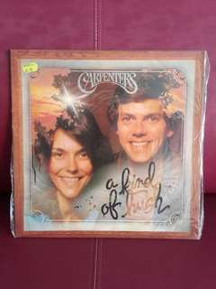Carpenters vinyl LP A Kind of Hush