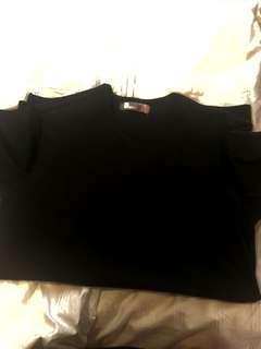 Bench black t shirt pocket