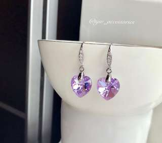 Stunning silver earrings!