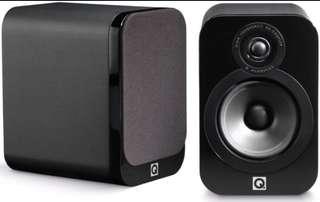 Q Acoustic 3020 and original speaker stand