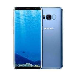 Samsung Galaxy S8 Dual Smartphone - Coral Blue [64 GB/4GB]