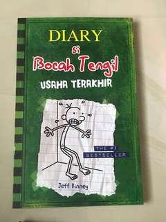Diary Si Bocah Tengil Usaha Terakhir Wimpy Kid