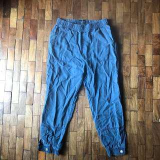Denim Blue Jogger Pants