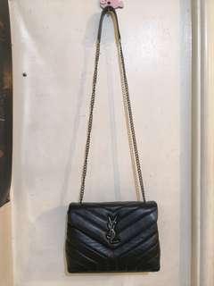 YSL Chevron Chain Bag
