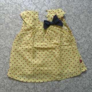 Miki Baby Dress 6-12mos