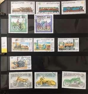 Stamps - Mongolia