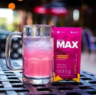 MAX酮能源系統 致能系列 – 紅莓清檸